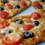 Воздушные мини - пиццы.