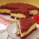"""Творожный """"Торфяной"""" пирог."""