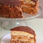 """Торт """"Сникерс"""".  Этот торт пеку уже второй раз и однозначно буду печь еще."""