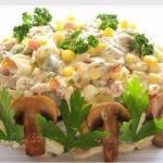 Наивкуснейший салат!   Ох, и вкуснючий салатик я нашла на просторах инета.