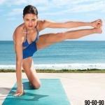 Йога: 8 упражнений для идеальных ног и ягодиц.