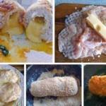 Нескучная грудка (куриная грудка с сыром в сухарях).