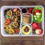 Еда с собой, которую берут на работу приверженцы здорового питания в Америке?