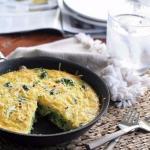 Омлет с брокколи на завтрак?
