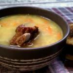 Гороховый суп.  Ингредиенты: