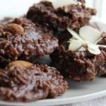 Шоколадное печенье без выпечки.